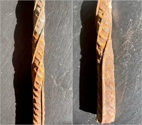 Evolución de las barras de acero. Ferros La Pobla. Resistencia y adhesión