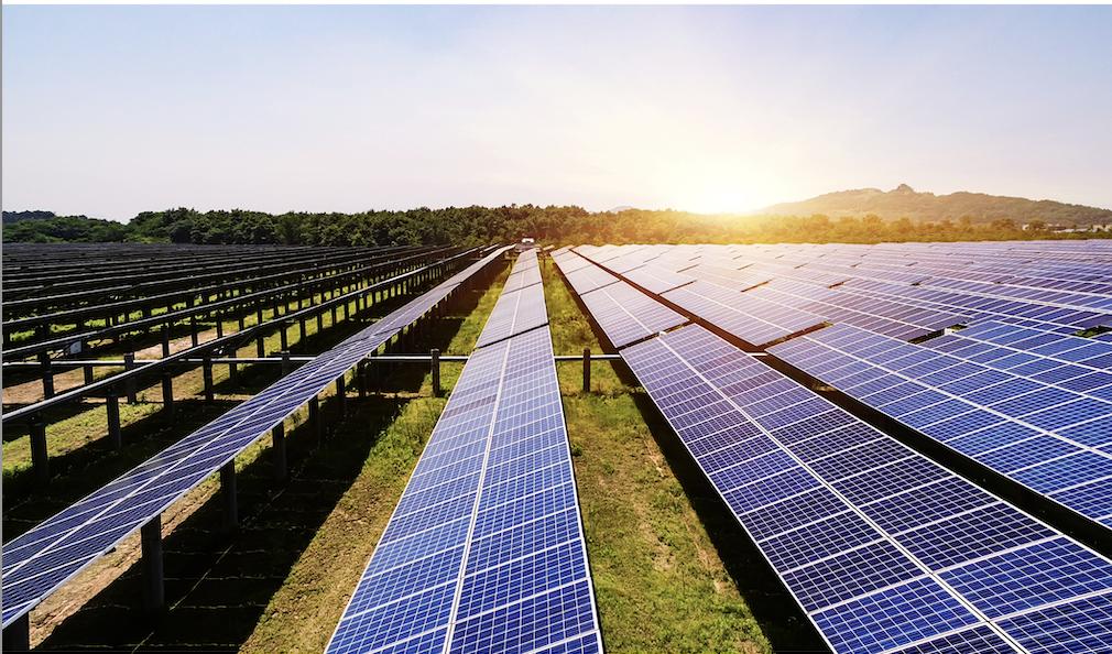 Zapatas para estructuras de paneles solares