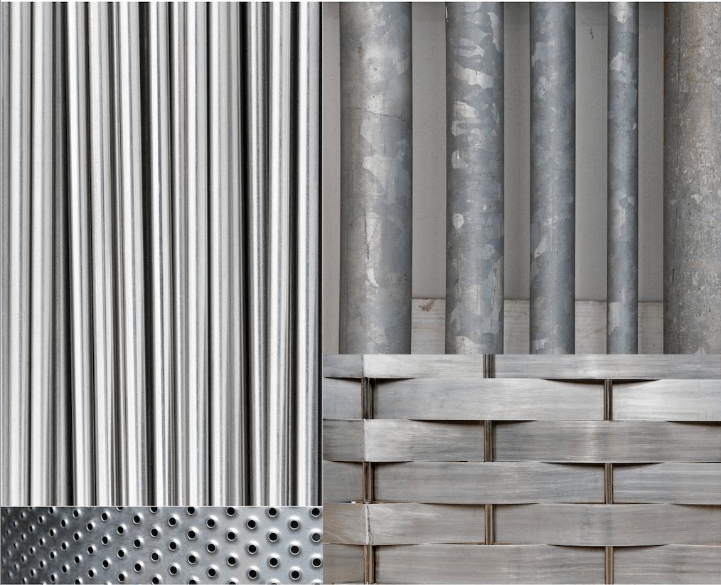 Diferencia el acero galvanizado del acero inoxidable. Ferros La Pobla